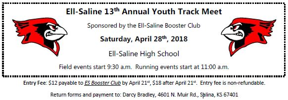 Ell-Saline 13th Annual Youth Track Meet